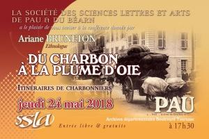 Conférence publique aux archives départementales le jeudi 24 mai à 17h30 par Ariane Bruneton